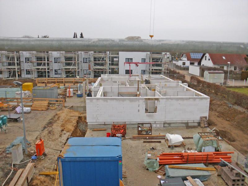 Neubau von zwei Wohnhäusern mit je 11 Wohneinheiten