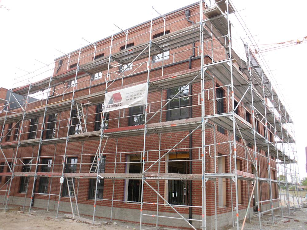 Errichtung einer Gewerbehalle