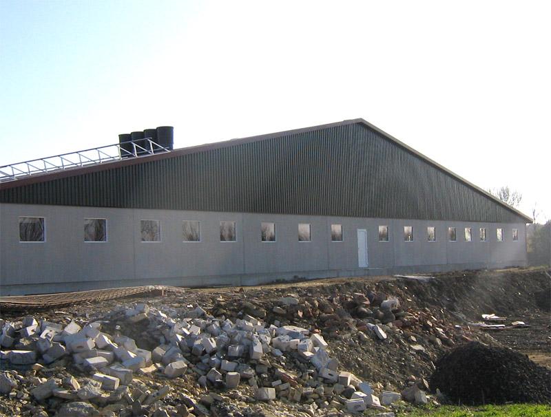 Neubau eines Sauen- und Ferkelaufzuchtstalles