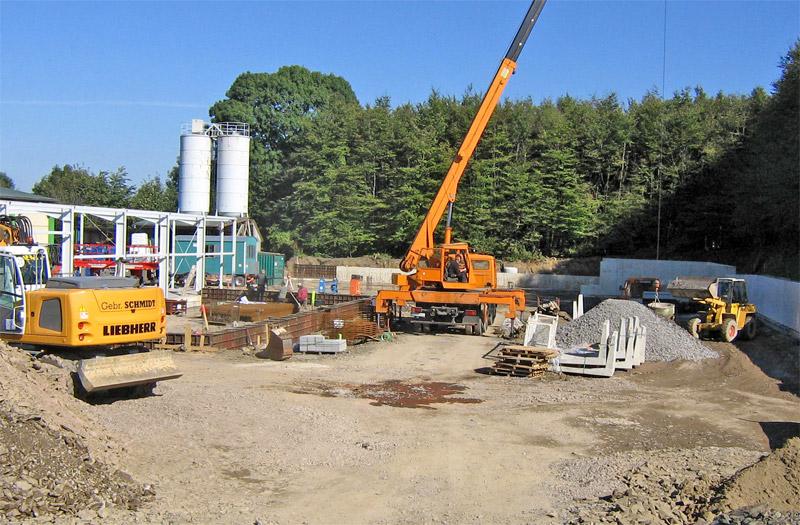 Erweiterung Raiffeisenmarkt und Neubau Lagerhalle