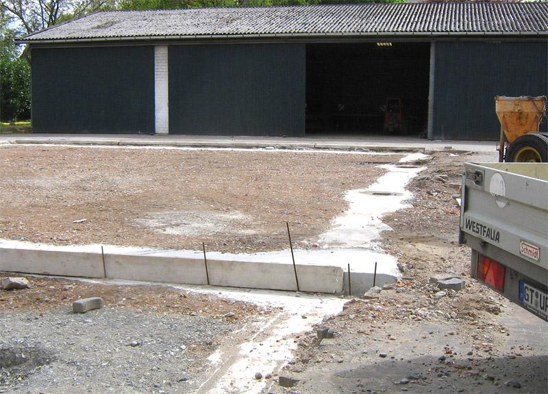Neubau Schüttguthalle mit Waschhalle
