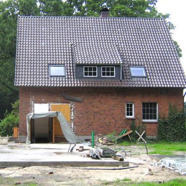 Umbau eines Wohnhauses