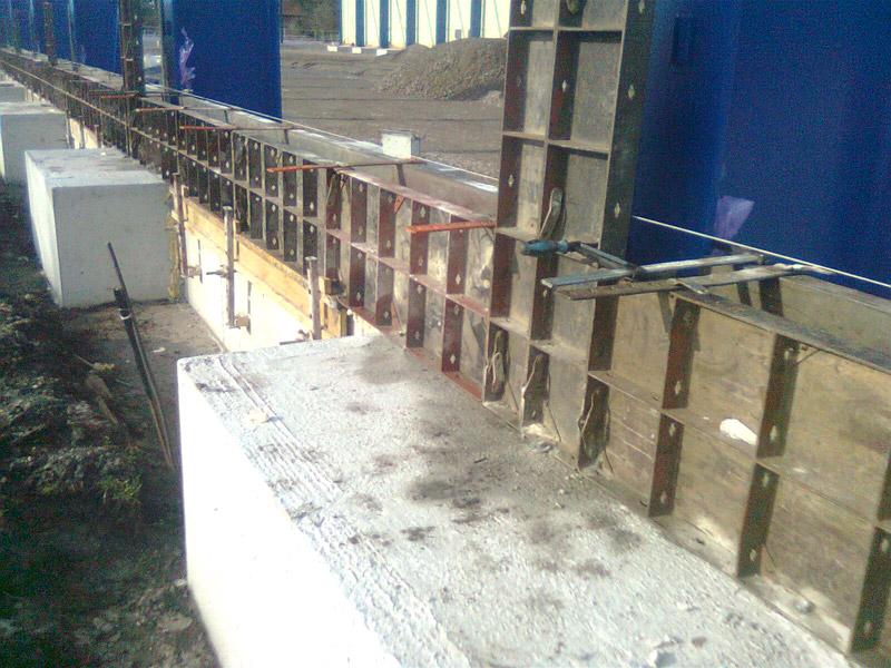 Neubau einer Werkhalle mit Hochregallager